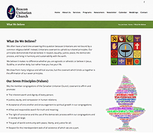 Beacon Unitarian web site